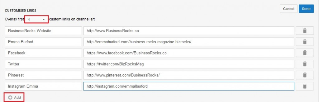 BizRocks Social Channels