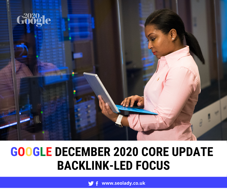 Google Algorithm 2020 Update December Core Backlinks SEO Change Rankings Fluctuation