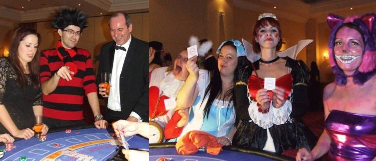 Christmas Party 2015 Fun Casino Party Blackjack Somerset Bristol Aces Fun Casino