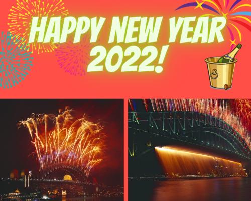 Happy New Year 2022 Fireworks Photo