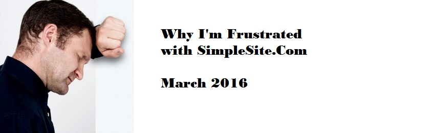 SimpleSite-Com Install Google Analytics Verify Google Search Console 2016 Customer Service Response
