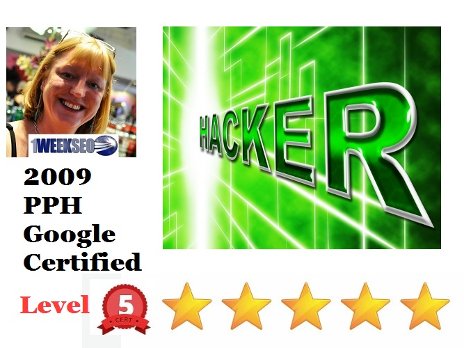 Hacked website people per hour Nina Greaves 1weekseo Level 5 stars