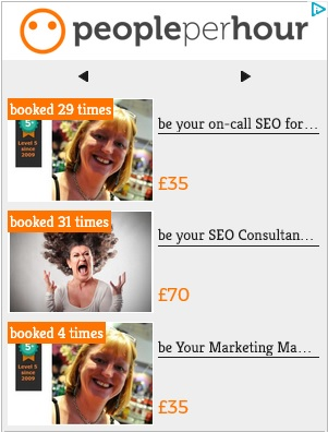 SEO Freelancer UK Rome Nina Payne