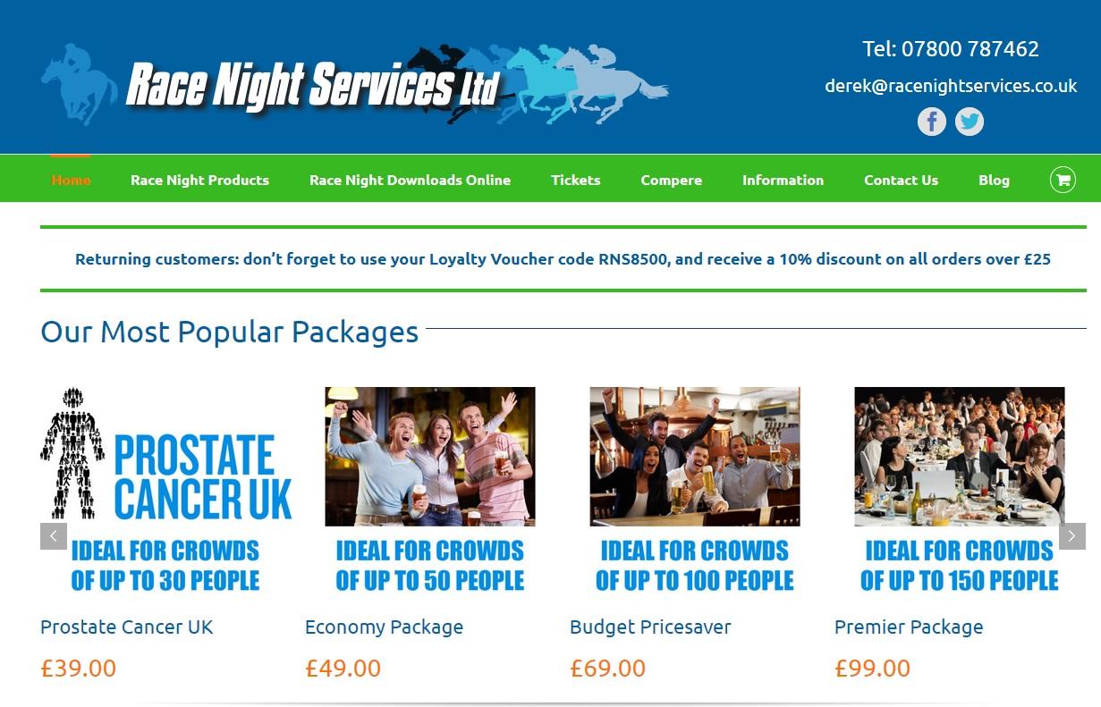 SEO Website Migration Advice 2019 Race Night Supplies Nina Payne SEO lady