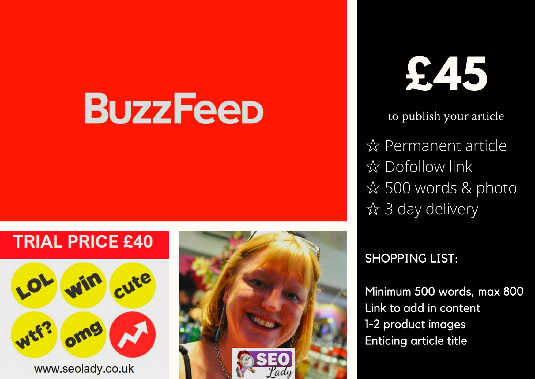 Buzzfeed Article SEO Lady Freelancer UK 2020 Ecommerce Website Sales Boom