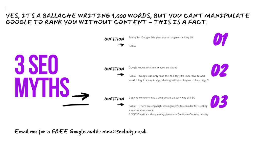 How Long Write 1000 Words SEO Ranking Google WordPress - 7