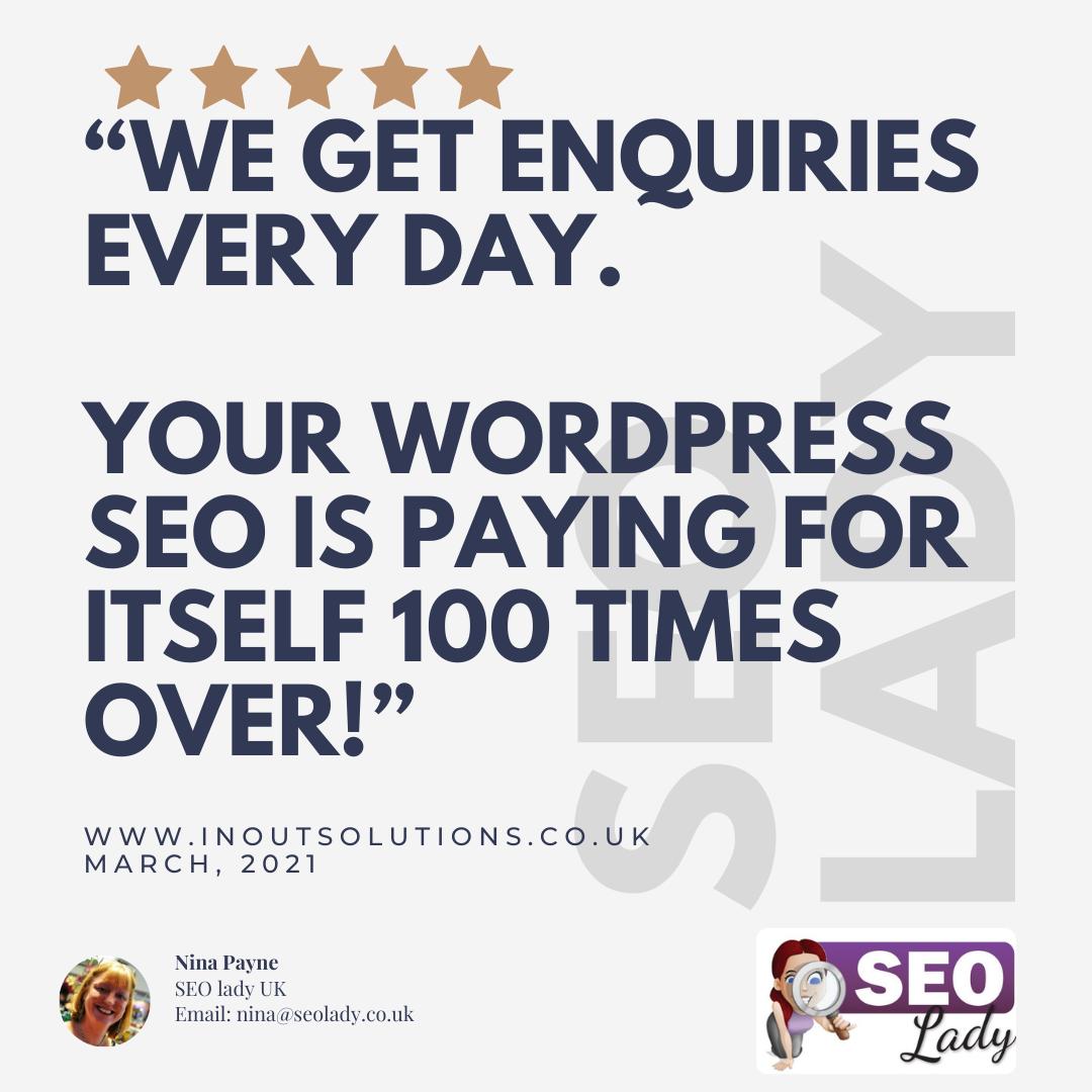 Zoom Consultations SEO Freelance UK Wordpress