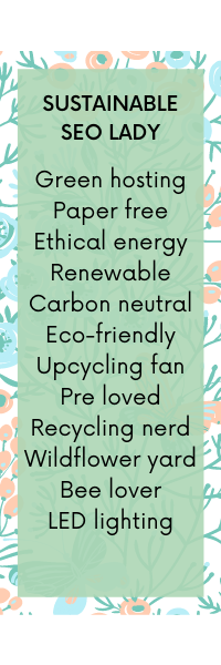 Sustainable SEO UK Ethical Carbon Neutral Green Website Hosting Eco Friendly