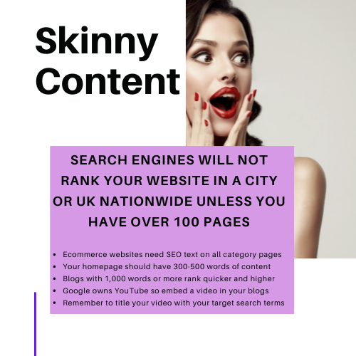 search phrases how to target evolution seo lady case study UK consultant ecommerce content copywriter Video SEO wordpress shopify
